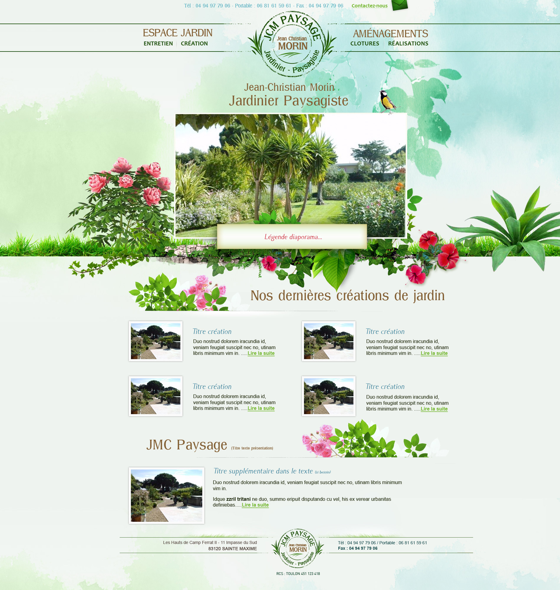 Webdesign paysagiste